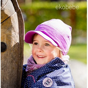 Organic Coton Children Hat - Girl