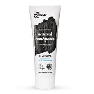 Humble Natural Toothpaste Charcoal - with fluoride